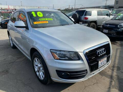 2010 Audi Q5 for sale at CAR GENERATION CENTER, INC. in Los Angeles CA