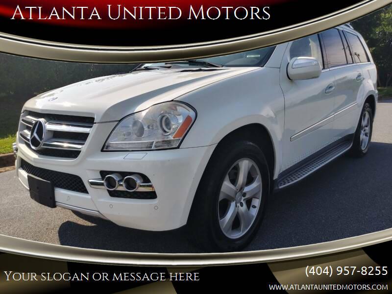 2010 Mercedes-Benz GL-Class for sale at Atlanta United Motors in Jefferson GA