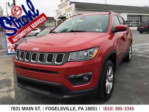 2017 Jeep Compass for sale at Strohl Automotive Services in Fogelsville PA
