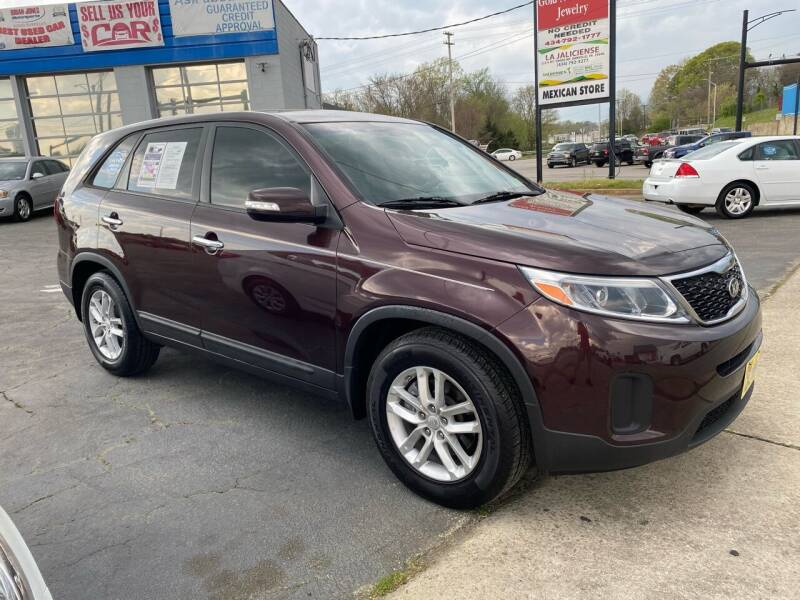 2015 Kia Sorento for sale at Brian Jones Motorsports Inc in Danville VA