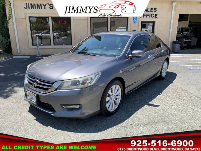 2013 Honda Accord for sale at JIMMY'S AUTO WHOLESALE in Brentwood CA
