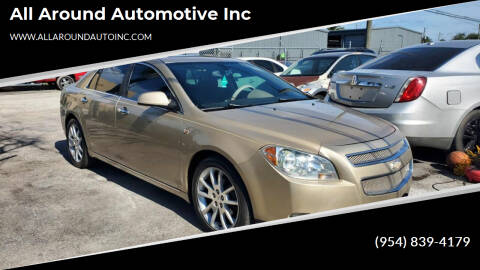 2008 Chevrolet Malibu for sale at All Around Automotive Inc in Hollywood FL
