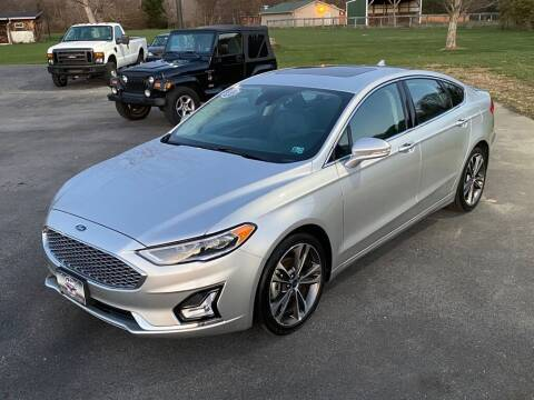 2019 Ford Fusion for sale at Alexandria Auto Mart LLC in Alexandria PA