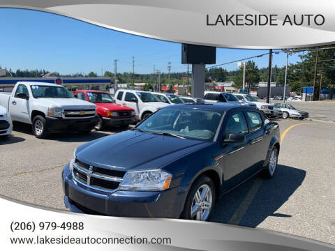 2008 Dodge Avenger for sale at Lakeside Auto in Lynnwood WA