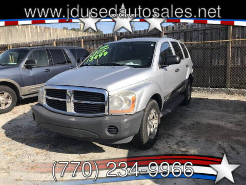 2006 Dodge Durango for sale at J D USED AUTO SALES INC in Doraville GA