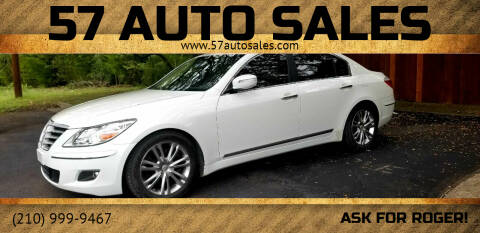 2011 Hyundai Genesis for sale at 57 Auto Sales in San Antonio TX