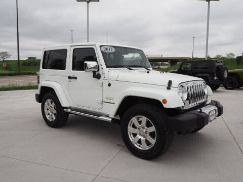 2013 Jeep Wrangler for sale at SIMOTES MOTORS in Minooka IL