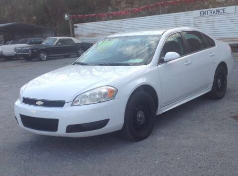 2013 Chevrolet Impala for sale at GIB'S AUTO SALES in Tahlequah OK