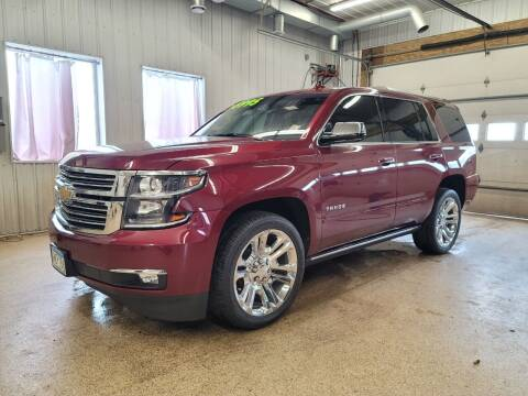 2017 Chevrolet Tahoe for sale at Sand's Auto Sales in Cambridge MN