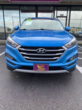 2017 Hyundai Tucson for sale at DRIVEhereNOW.com in Greenville NC