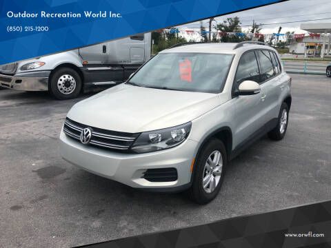 2015 Volkswagen Tiguan for sale at Outdoor Recreation World Inc. in Panama City FL