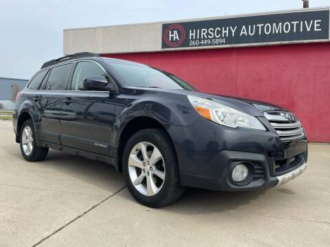 2013 Subaru Outback for sale at Hirschy Automotive in Fort Wayne IN