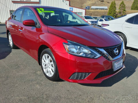 2019 Nissan Sentra for sale at Guy Strohmeiers Auto Center in Lakeport CA
