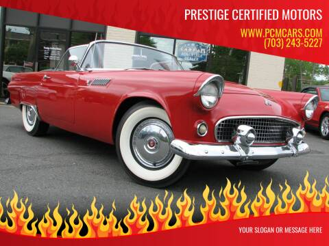 1955 Ford Thunderbird for sale at Prestige Certified Motors in Falls Church VA