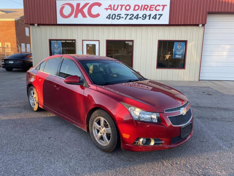 2012 Chevrolet Cruze for sale at OKC Auto Direct in Oklahoma City OK