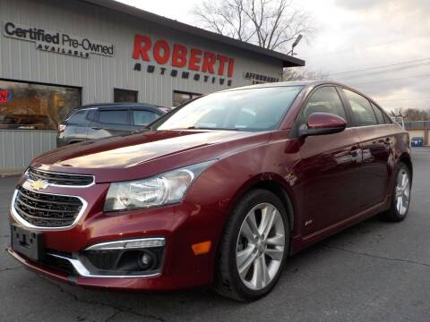 2015 Chevrolet Cruze for sale at Roberti Automotive in Kingston NY