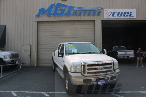 2005 Ford F-350 Super Duty for sale at MGI Motors in Sacramento CA