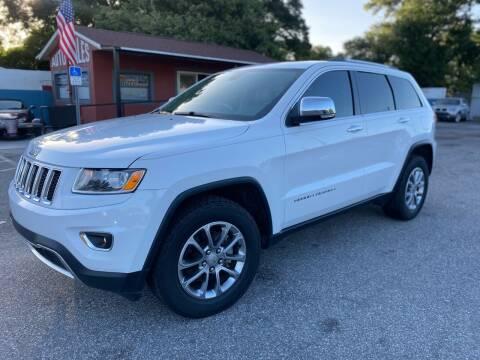 2015 Jeep Grand Cherokee for sale at CHECK  AUTO INC. in Tampa FL