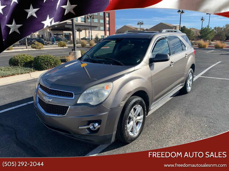 2011 Chevrolet Equinox for sale at Freedom Auto Sales in Albuquerque NM