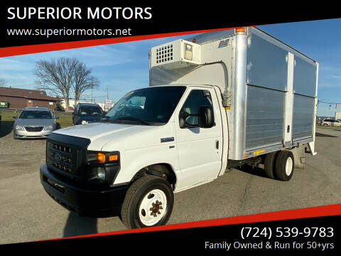 2012 Ford E-Series Chassis for sale at SUPERIOR MOTORS in Latrobe PA