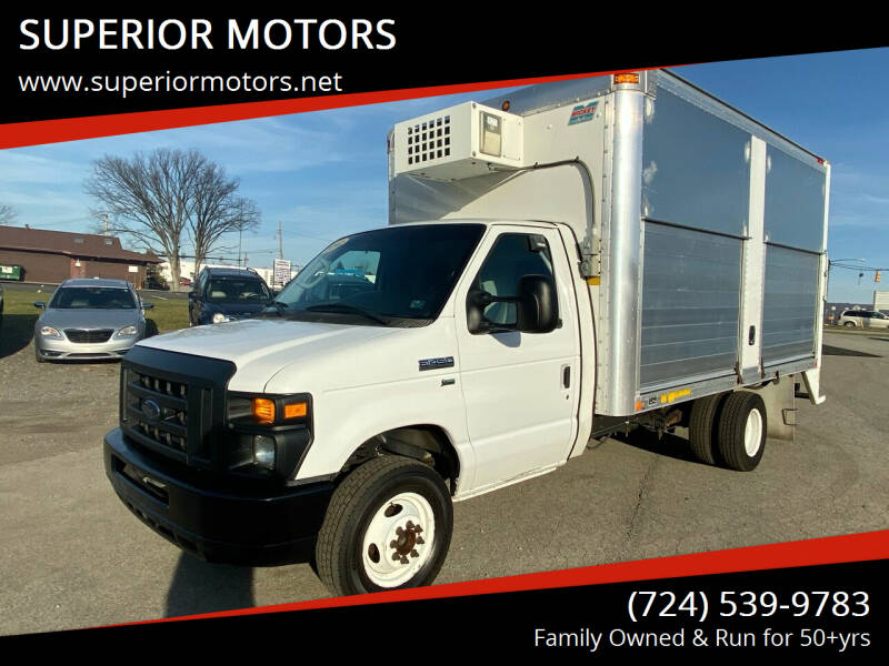 2012 Ford E-Series Chassis E-450 SD