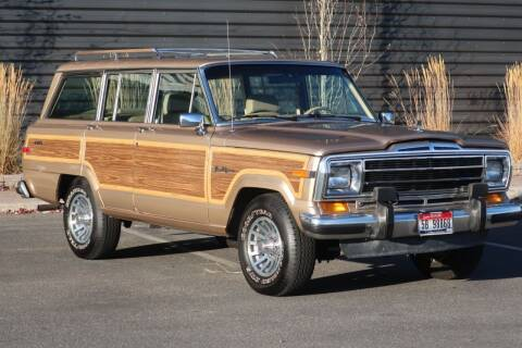 1990 Jeep Grand Wagoneer for sale at Sun Valley Auto Sales in Hailey ID