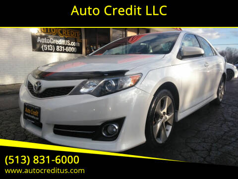 2012 Toyota Camry for sale at Auto Credit LLC in Milford OH