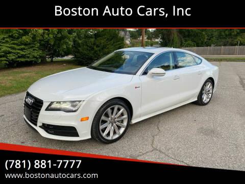 2014 Audi A7 for sale at Boston Auto Cars in Dedham MA