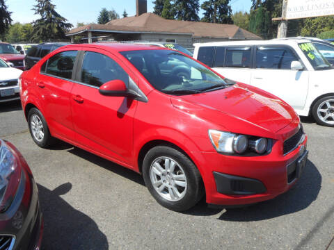 2013 Chevrolet Sonic for sale at Lino's Autos Inc in Vancouver WA