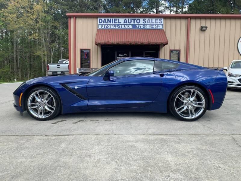 2017 Chevrolet Corvette for sale at Daniel Used Auto Sales in Dallas GA