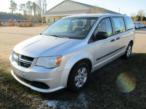 2012 Dodge Grand Caravan for sale at Creech Auto Sales in Garner NC