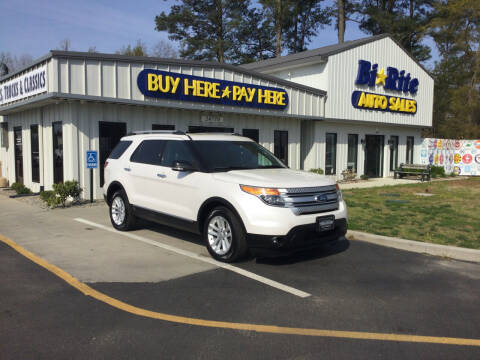 2013 Ford Explorer for sale at Bi Rite Auto Sales in Seaford DE
