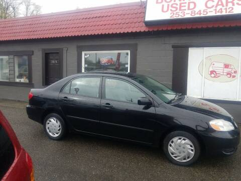 2008 Toyota Corolla for sale at Bonney Lake Used Cars in Puyallup WA