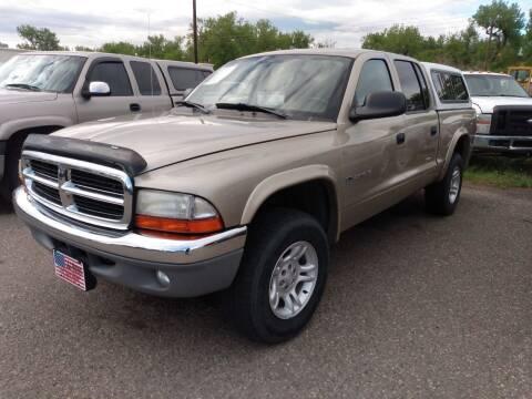 2002 Dodge Dakota for sale at L & J Motors in Mandan ND
