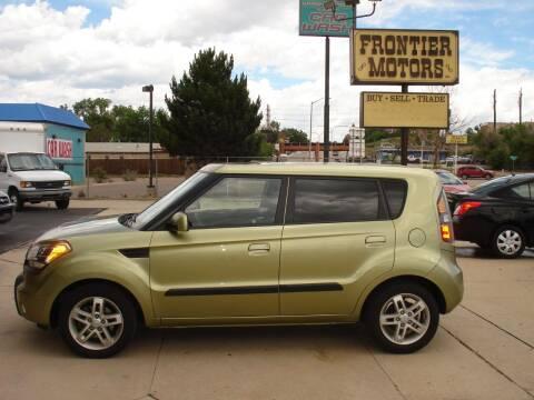 2010 Kia Soul for sale at Frontier Motors Ltd in Colorado Springs CO