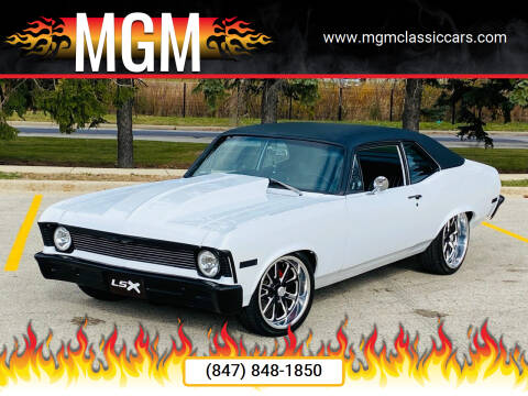 1972 Chevrolet Nova for sale at MGM CLASSIC CARS in Addison IL