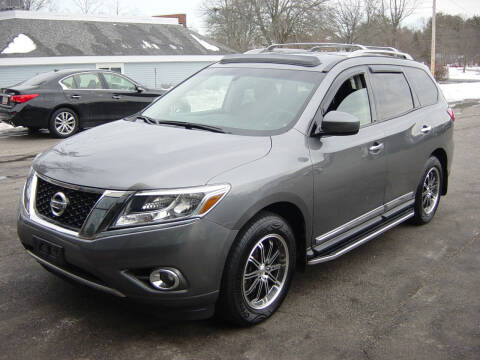 2015 Nissan Pathfinder for sale at North South Motorcars in Seabrook NH