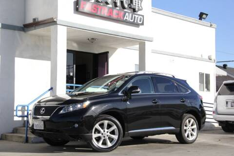2011 Lexus RX 350 for sale at Fastrack Auto Inc in Rosemead CA