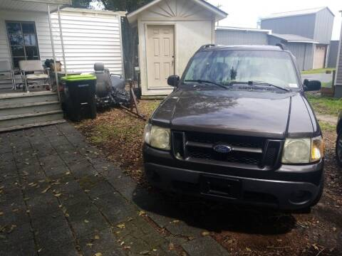 2005 Ford Explorer Sport Trac for sale at Webb's Automotive Inc 11 in Morehead City NC