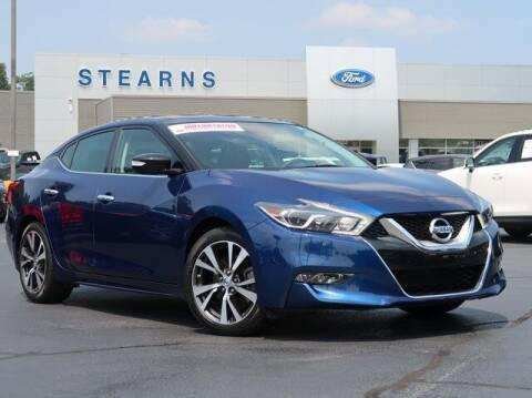 2016 Nissan Maxima for sale at Stearns Ford in Burlington NC