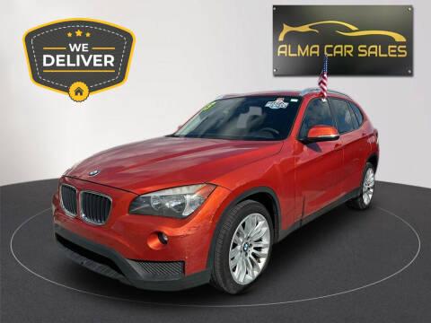 2013 BMW X1 for sale at Alma Car Sales in Miami FL