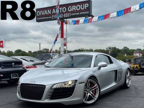 2008 Audi R8 for sale at Divan Auto Group in Feasterville Trevose PA