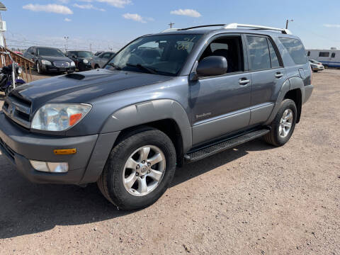 2003 Toyota 4Runner for sale at PYRAMID MOTORS - Fountain Lot in Fountain CO