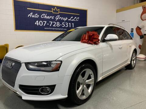 2013 Audi Allroad for sale at Auto Chars Group LLC in Orlando FL