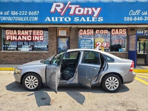 2005 Volvo S40 for sale at R Tony Auto Sales in Clinton Township MI