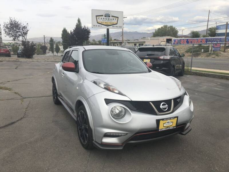 2014 Nissan JUKE for sale at CarSmart Auto Group in Murray UT