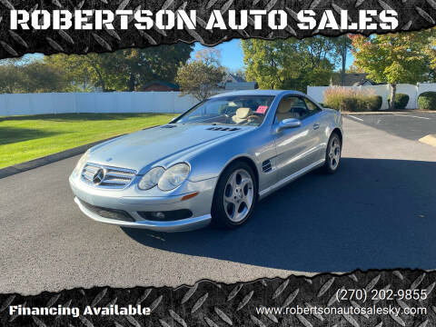 2004 Mercedes-Benz SL-Class for sale at ROBERTSON AUTO SALES in Bowling Green KY