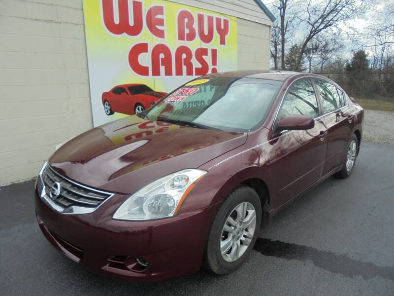 2012 Nissan Altima for sale at Right Price Auto Sales in Murfreesboro TN