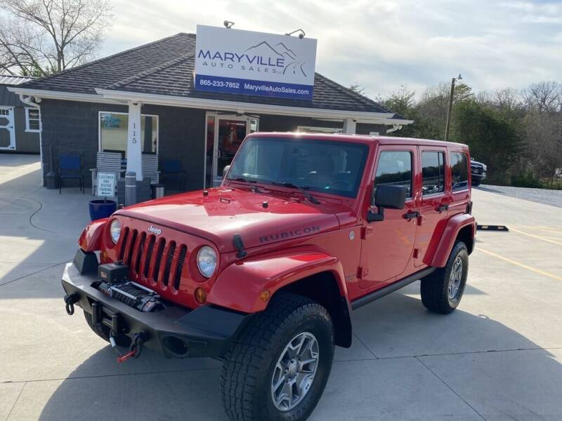 2013 Jeep Wrangler Unlimited for sale at Maryville Auto Sales in Maryville TN