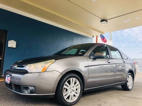 2011 Ford Focus for sale at Trimax Auto Group in Norfolk VA